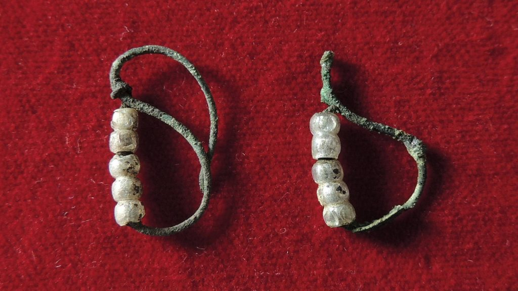 orecchinicon vaghi in pasta vitrea-San Daniele
