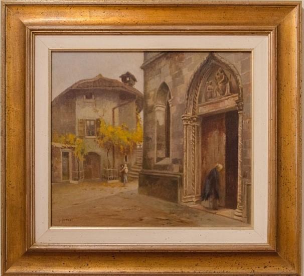 Scorci di San Daniele dipinti dal Gattoli