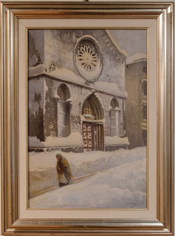 Scorci di San Daniele dipinti dal Gattoli2
